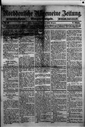 Norddeutsche allgemeine Zeitung on Apr 23, 1882