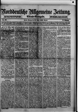 Norddeutsche allgemeine Zeitung vom 24.04.1882