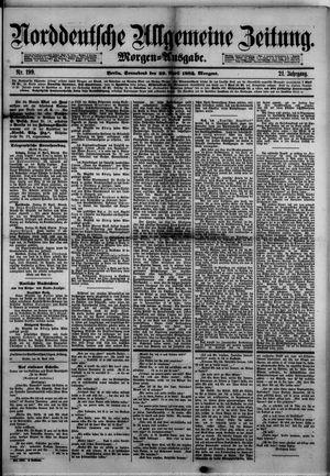 Norddeutsche allgemeine Zeitung vom 29.04.1882