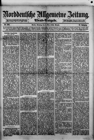 Norddeutsche allgemeine Zeitung vom 02.05.1882