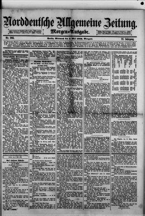 Norddeutsche allgemeine Zeitung vom 03.05.1882