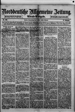 Norddeutsche allgemeine Zeitung vom 04.05.1882