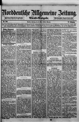 Norddeutsche allgemeine Zeitung vom 05.05.1882