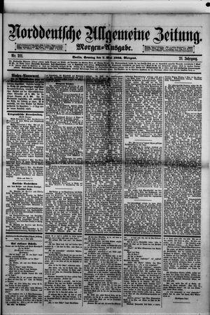 Norddeutsche allgemeine Zeitung vom 07.05.1882