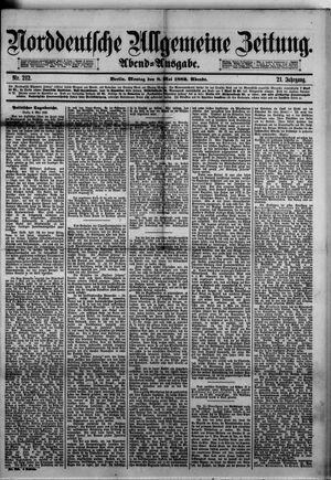 Norddeutsche allgemeine Zeitung on May 8, 1882