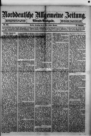 Norddeutsche allgemeine Zeitung vom 09.05.1882