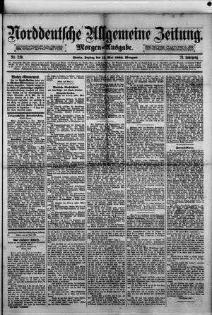 Norddeutsche allgemeine Zeitung vom 12.05.1882