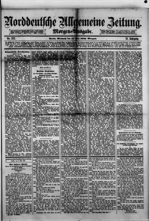 Norddeutsche allgemeine Zeitung vom 17.05.1882