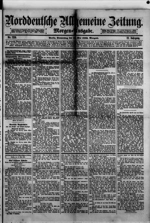 Norddeutsche allgemeine Zeitung vom 18.05.1882
