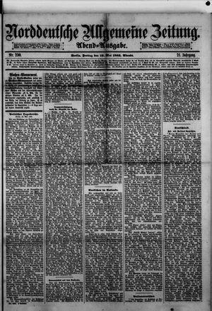 Norddeutsche allgemeine Zeitung vom 19.05.1882