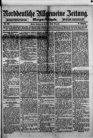 Norddeutsche allgemeine Zeitung vom 21.05.1882