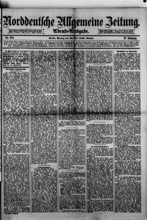 Norddeutsche allgemeine Zeitung vom 22.05.1882