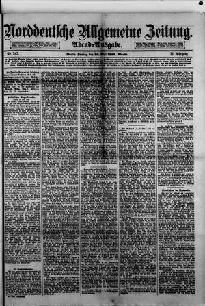 Norddeutsche allgemeine Zeitung vom 26.05.1882