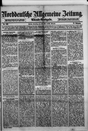 Norddeutsche allgemeine Zeitung vom 30.05.1882