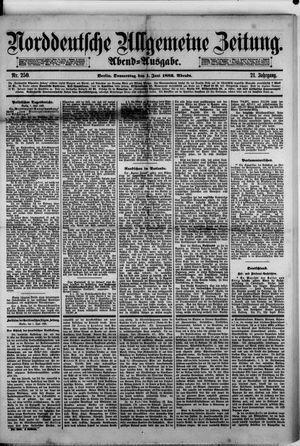 Norddeutsche allgemeine Zeitung vom 01.06.1882