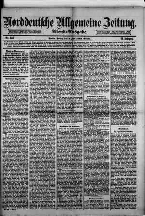 Norddeutsche allgemeine Zeitung on Jun 2, 1882