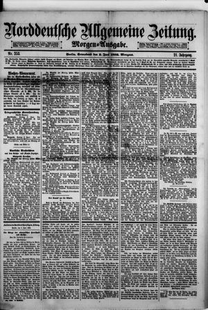 Norddeutsche allgemeine Zeitung vom 03.06.1882