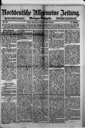 Norddeutsche allgemeine Zeitung vom 06.06.1882