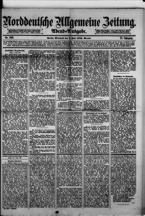 Norddeutsche allgemeine Zeitung vom 07.06.1882