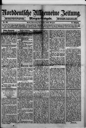 Norddeutsche allgemeine Zeitung vom 08.06.1882