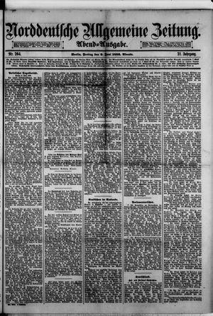 Norddeutsche allgemeine Zeitung vom 09.06.1882