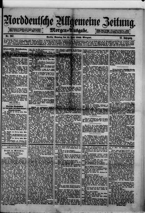Norddeutsche allgemeine Zeitung vom 11.06.1882