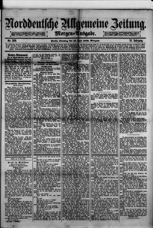 Norddeutsche allgemeine Zeitung vom 13.06.1882
