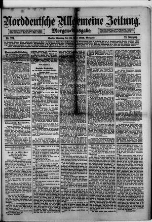 Norddeutsche allgemeine Zeitung vom 18.06.1882