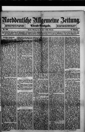 Norddeutsche allgemeine Zeitung vom 19.06.1882