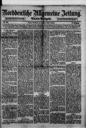 Norddeutsche allgemeine Zeitung vom 21.06.1882