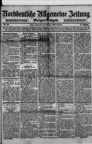 Norddeutsche allgemeine Zeitung vom 22.06.1882