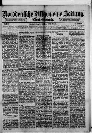 Norddeutsche allgemeine Zeitung vom 23.06.1882