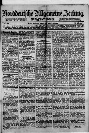 Norddeutsche allgemeine Zeitung vom 24.06.1882