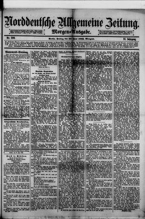 Norddeutsche allgemeine Zeitung vom 30.06.1882