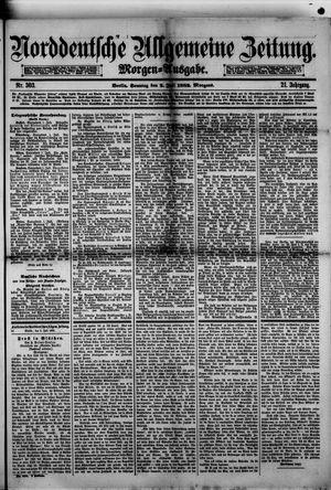 Norddeutsche allgemeine Zeitung vom 02.07.1882