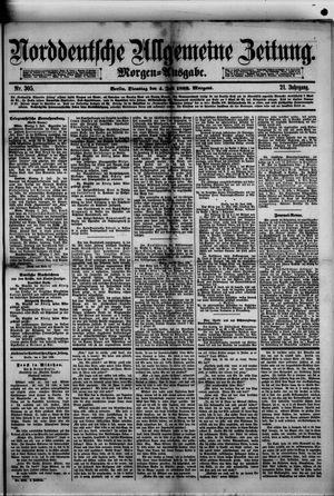 Norddeutsche allgemeine Zeitung vom 04.07.1882