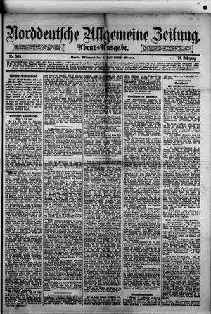 Norddeutsche allgemeine Zeitung vom 05.07.1882