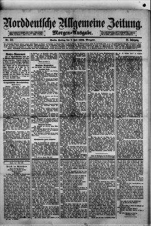 Norddeutsche allgemeine Zeitung vom 07.07.1882
