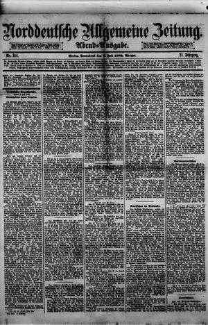 Norddeutsche allgemeine Zeitung vom 08.07.1882
