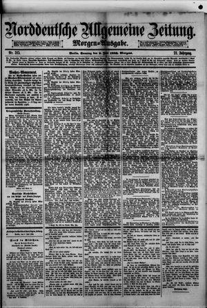 Norddeutsche allgemeine Zeitung vom 09.07.1882