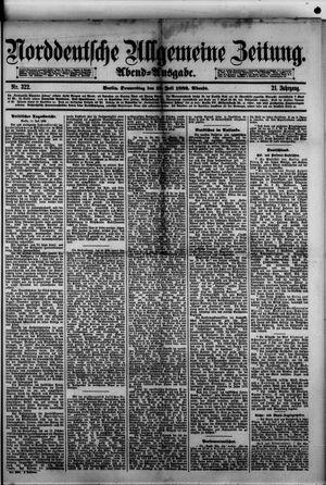 Norddeutsche allgemeine Zeitung vom 13.07.1882