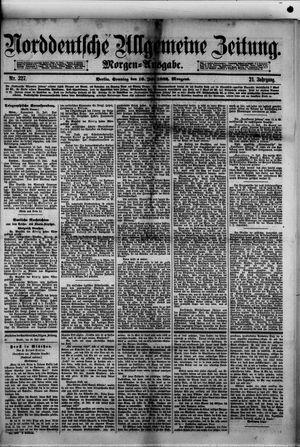 Norddeutsche allgemeine Zeitung vom 16.07.1882