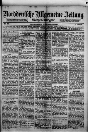 Norddeutsche allgemeine Zeitung vom 19.07.1882