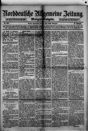 Norddeutsche allgemeine Zeitung on Jul 20, 1882