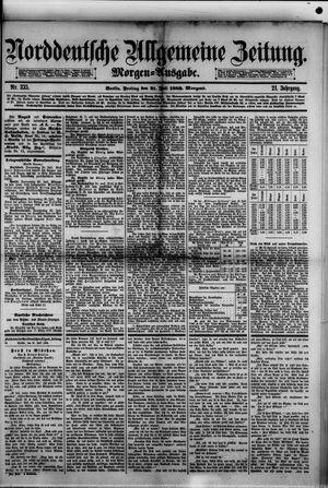 Norddeutsche allgemeine Zeitung vom 21.07.1882