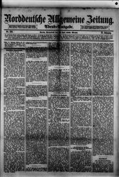Norddeutsche allgemeine Zeitung (22.07.1882)
