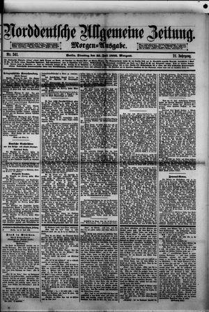 Norddeutsche allgemeine Zeitung vom 25.07.1882