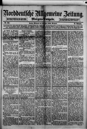 Norddeutsche allgemeine Zeitung vom 26.07.1882