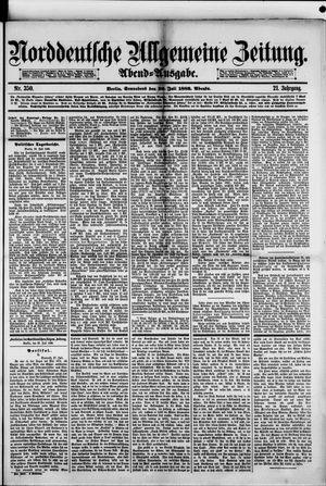 Norddeutsche allgemeine Zeitung vom 29.07.1882