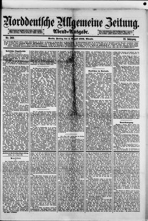 Norddeutsche allgemeine Zeitung vom 04.08.1882